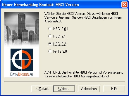 HBCI Version